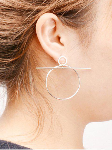 sale Filigree Round Circle Hoop Earrings -   Mobile
