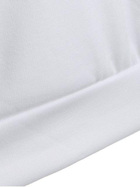 outfit Casual Raglan Sleeve Hoodie - GREEN M Mobile