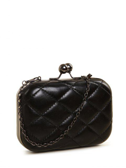 lady Kiss Lock Quilted Evenig Bag -   Mobile