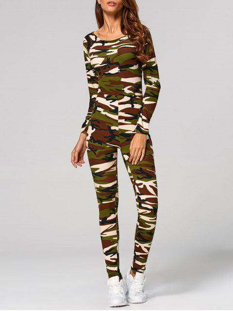 camouflage Jumpsuit - Camouflage M Mobile