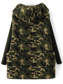 In 31 Camo Fleece Eine Rabatt 2019 Gefütterte Camouflage Mantel xwawWUq4HO