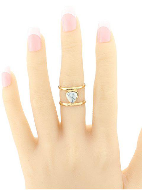 outfit Faux Turquoise Cage Ring -   Mobile