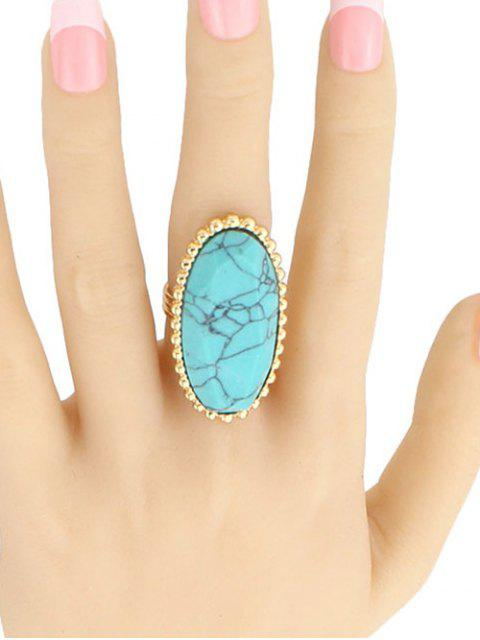 women's Beaded Edge Oval Ring -   Mobile