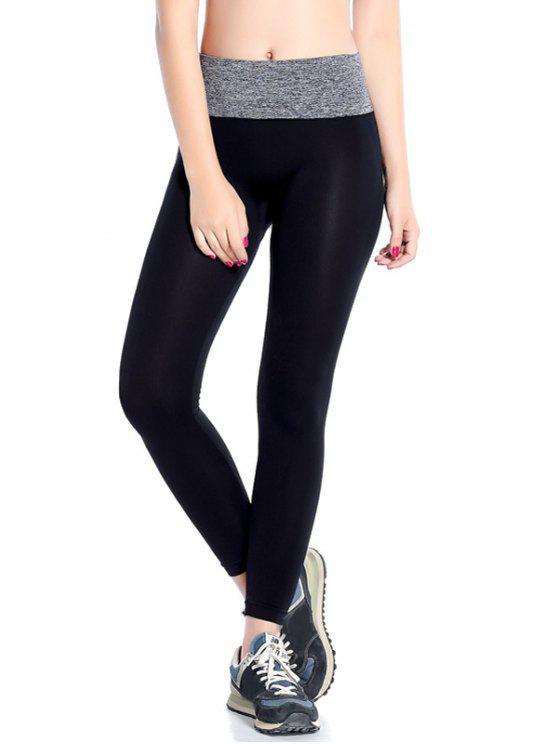 shops Stretchy Yoga Leggings - GRAY L