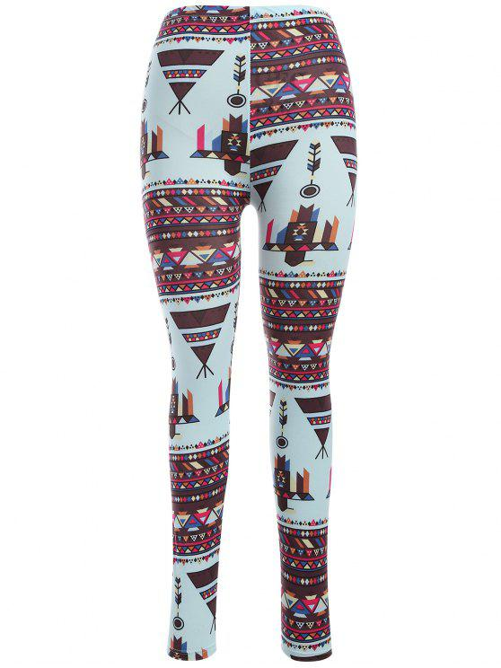 unique Printed Nordic Leggings - COLORMIX ONE SIZE