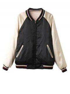 Double Side Souvenir Jacket - Apricot L