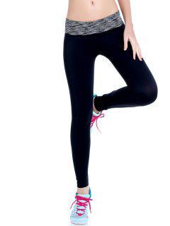 Leggings De Gymnastique élastique à Tie Dye - Gris S
