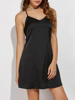 Cami A Line Mini Dress - Black S