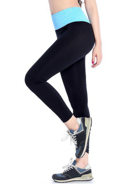sale Stretchy Yoga Leggings - AZURE M Mobile
