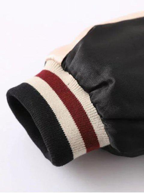 new Double Side Souvenir Jacket - APRICOT L Mobile