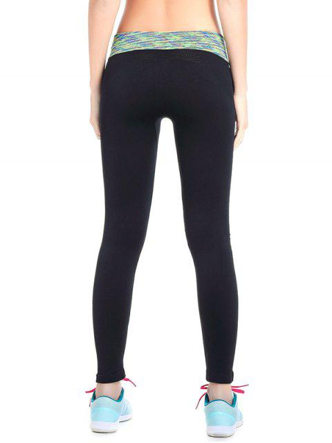 sale Stretchy Space Dyed Yoga Leggings -   Mobile