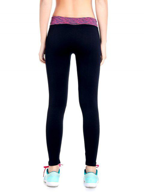 women's Stretchy Space Dyed Yoga Leggings -   Mobile