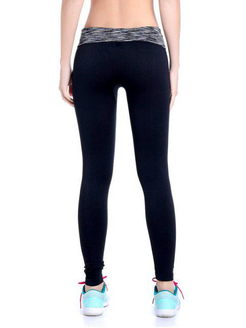 online Stretchy Space Dyed Yoga Leggings -   Mobile
