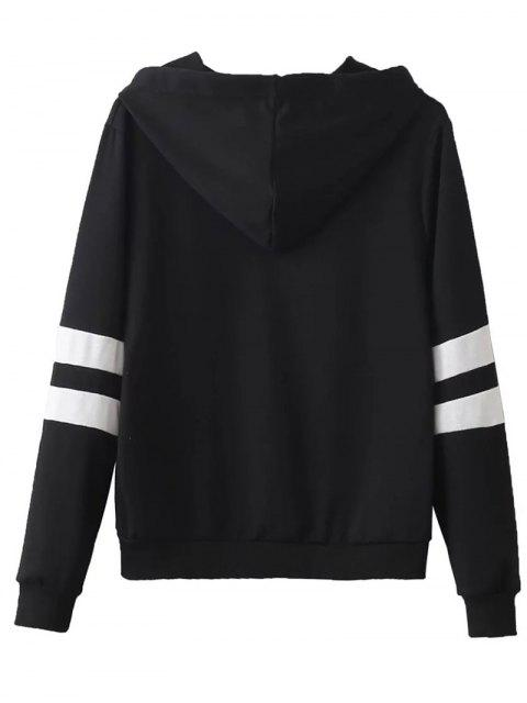 hot Striped Classic Hoodie -   Mobile