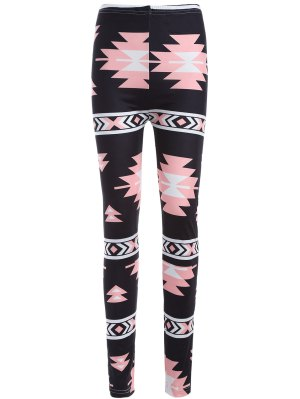 Geometric Print Yoga Leggings
