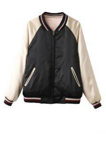 Double Side Souvenir Jacket - Apricot L