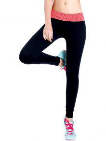 Stretchy Space Dyed Yoga Leggings - Jacinth L