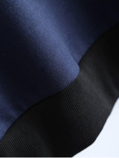 hot Graphic Dropped Shoulder Sweatshirt - CADETBLUE S Mobile