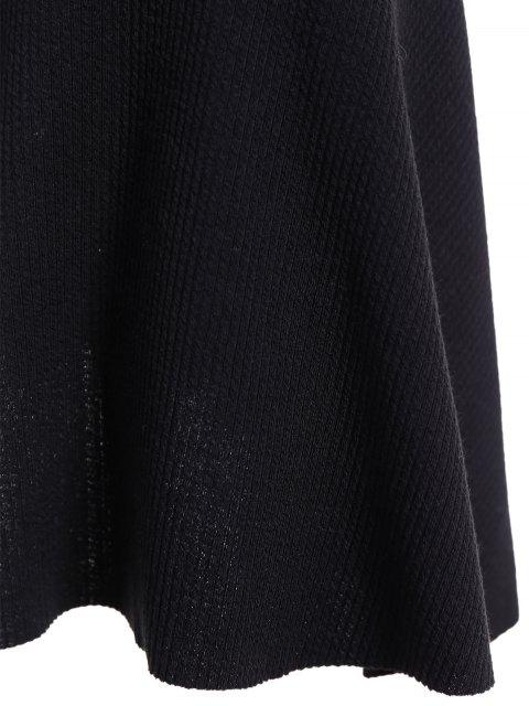 Robe Col Rond Sirène Chandail - Noir 3XL Mobile