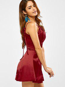 16a7969559b5 29% OFF  2019 Cami Mini Skater Dress In RED