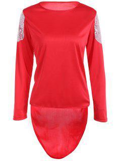 T-shirt à Haute Faiblesse - Rouge S