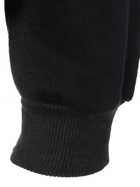 Sweat-shirt avec motif animal - Noir M Mobile