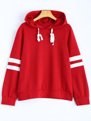 Stripes Pullover Hooded Sweatshirt