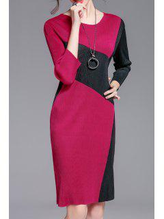 Jewel Neck Color Block Robe - Frutti De Tutti
