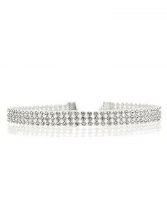 Collier Strass Embelli -