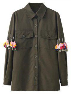 Glands Utility Shirt - Vert Armée M
