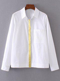 Chemise Aux Longues Manches - Blanc S