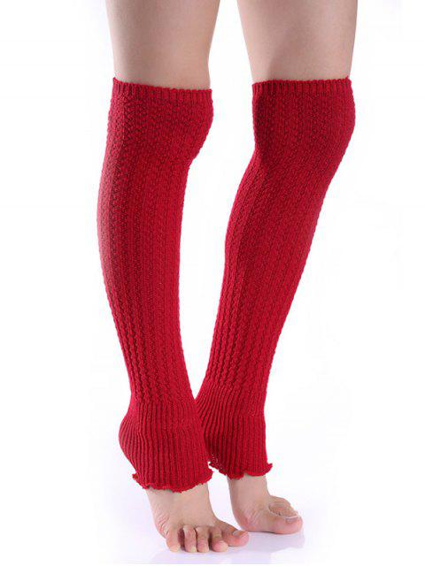 unique Cable Knitted Leg Warmers -   Mobile