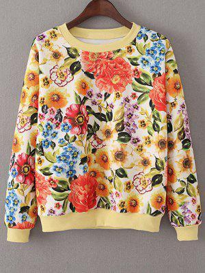 Vintage Floral Sweatshirt - Jacinth S