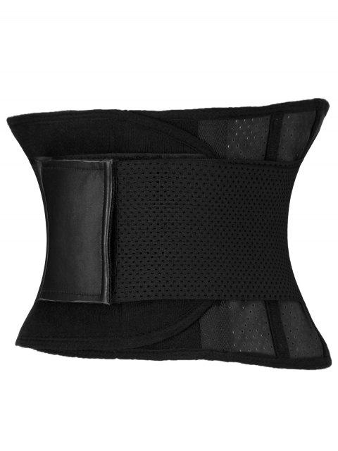 ladies Stretchy Waist Training Corset - BLACK 2XL Mobile