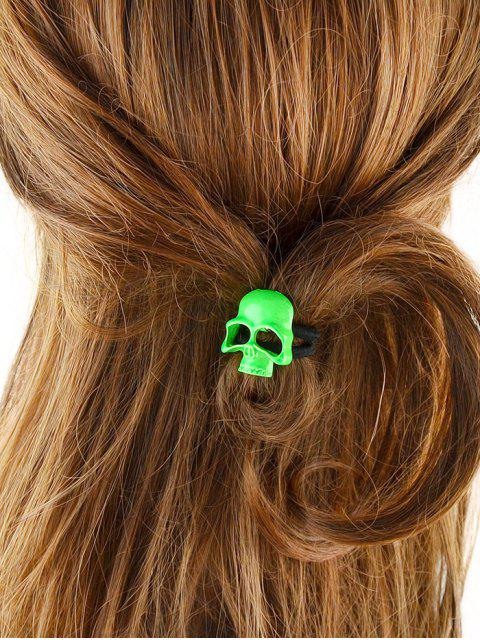 fashion Vintage Skull Elatic Hair Band -   Mobile