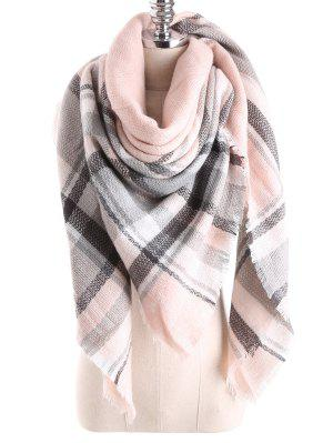 Tartan Plaid Blanket Shawl Scarf