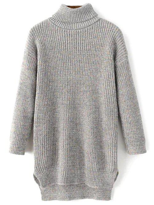 Turtleneck Heather Sweater)
