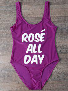 Rose All Day Swimsuit - Violet Rose Xl