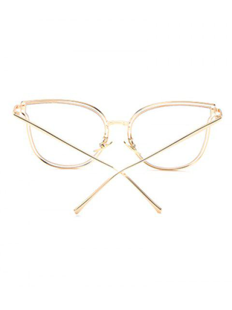 online Hollow Out Butterfly Shaped Sunglasses - TRANSPARENT  Mobile