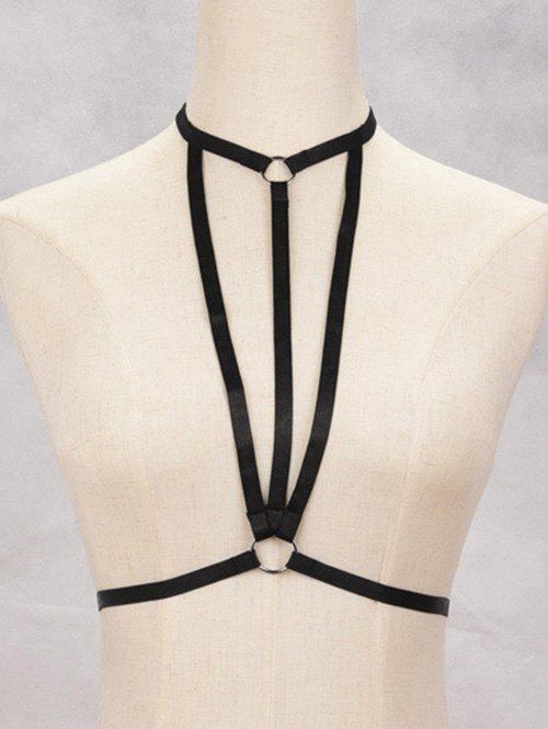Bra Bondage Harness Geometric Body Jewelry