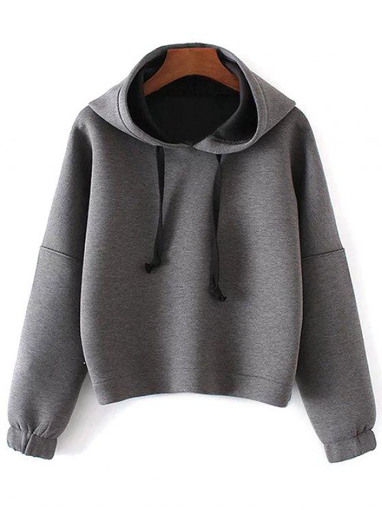 sale Space Cotton Hoodie - GRAY S