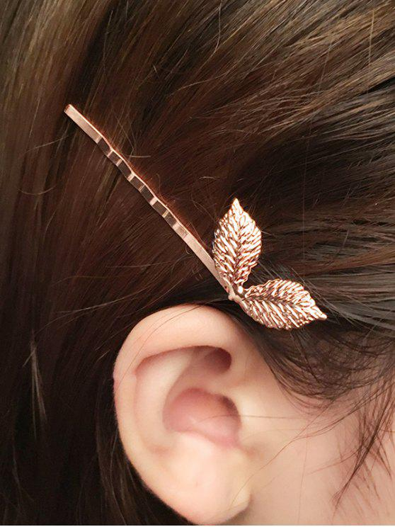 new Adorn Leaves Hairpin - ROSE GOLD