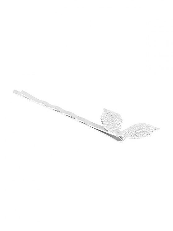 outfit Adorn Leaves Hairpin - SILVER
