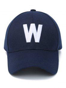 Letter W Baseball Hat  Letter W Baseball Hat ... e71f4ad5fa9