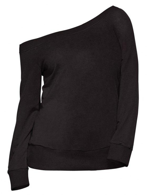Sweatshirt une épaule - Noir L