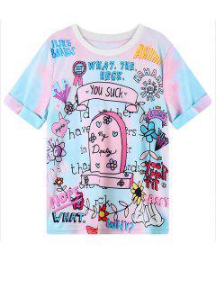 Cartoon Graphic Pattern T-Shirt