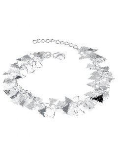 Adorn Christmas Tree Charm Bracelet - Silver