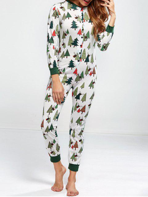 Pyjama combinaison de Noël - Vert L Mobile
