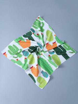 Cactus Handkerchief Scarf