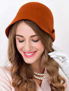 2019 Winter Wool Bowler Cloche Hat In JACINTH  ea243598c97